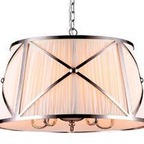 NEWPORT 32307/S , Подвесной светильник, Nickel D65*H40 cm E14 7*60W(М0052543)