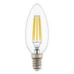 Лампа светодиодная свеча светодиодная LED E14 6W 3000K (933602)