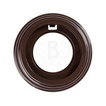 Рамка 1 постовая коричневый пластик BIRONI BF1-610-22