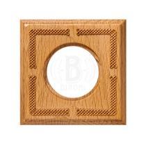Рамка одноместная квадрат натурэль дерево BIRONI BF4-610-101