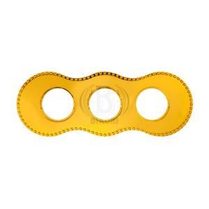 Рамка трехместная золото BF8-630-31