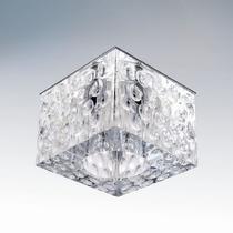 004160 Светильник BOLLA QUBE CR G5.3 ХРОМ/ПРОЗРАЧНЫЙ