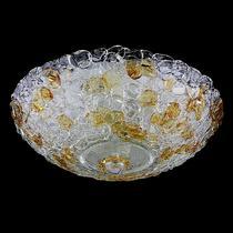 604103 (7019/50) MURANO Люстра 10х40W E14 Amber