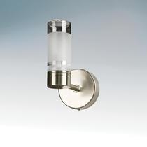 730115 Светильник влагозащищенный WL401 G9 IP44 QT14 max 25W SATIN NICKEL
