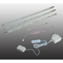 357016 NT09 368 пластик Накладной светильник, набор из 3-х шт. 3LED 3*4W 220V TERMO