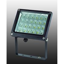 357190 NT15 028 чёрный Накладной светильник IP65 24LED*1W 24W 220V ARMIN