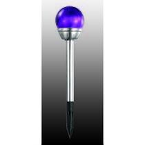 357210 NT15 042 фиолетовый Садовый светильник в землю (2 штуки в комплекте!!!) IP65 1LED*0,05W SOLAR