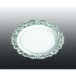 357266 NT16 282 белый/хром Встраиваемый светодиодный светильник IP20 45LED 9W 220-240V PEILI