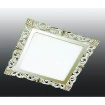357280 NT16 281 белый/золото Встраиваемый светодиодный светильник IP20 75LED 15W 220-240V PEILI