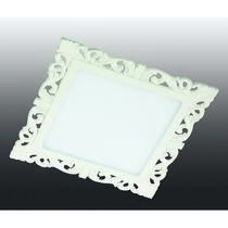 357286 NT16 283 белый Встраиваемый светодиодный светильник IP20 75LED 15W 220-240V PEILI