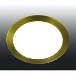 357289 NT16 284 светлая бронза Встраиваемый светодиодный светильник IP20 60LED 12W 220-240V LANTE