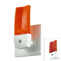 357331 NT16 073 белый/оранж Светильник-ночник (в розетку) с датчиком IP20 1LEDx0.5W 220V NIGHT LIGHT