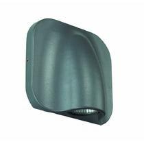 357414 NT17 000 темно-серый Ландшафтный светодиодный настенный светильник 1LED*3W 220-240V KAIMAS