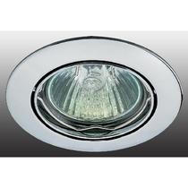 369101 NT09 247 хром Встраиваемый ПВ светильник GX5.3 50W 12V CROWN