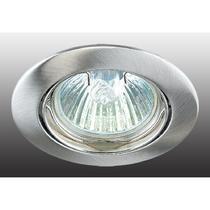 369103 NT09 247 никель Встраиваемый ПВ светильник GX5.3 50W 12V CROWN