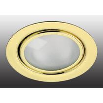 369121 NT09 261 золото Встраиваемый НП светильник G4 20W 12V FLAT