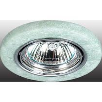 369283 NT09 226 хром/зел камень Встраиваемый ПВ светильник GX5.3 50W 12V STONE