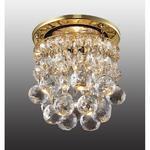 369329 NT09 152 золото/прозрачный Встраиваемый светильник IP20 GX5.3 50W 12V DROP