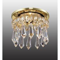 369331 NT09 152 золото/прозрачный Встраиваемый светильник IP20 GX5.3 50W 12V DROP