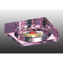 369484 NT09 354 розовый Встраиваемый светильник GX5.3 50W 12V GLASS