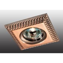 369656 NT12 356 красная латунь Встраиваемый НП светильник IP20 GX5.3 50W 12V WIND