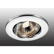 369693 NT12 256 хром Встраиваемый ПВ светильник IP20 GX5.3 50W 12V CLASSIC