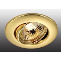 369695 NT12 256 золото Встраиваемый ПВ светильник IP20 GX5.3 50W 12V CLASSIC