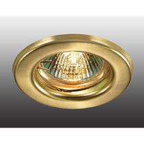 369704 NT12 258 золото Встраиваемый НП светильник IP20 GX5.3 50W 12V CLASSIC