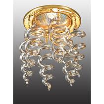 369750 NT12 338 золото Встраиваемый светильник IP20 GX5.3 50W 12V DEW