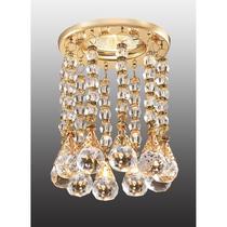 369786 NT12 156 золото Встраиваемый светильник IP20 GX5.3 50W 12V RITZ