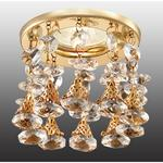 369792 NT12 156 золото Встраиваемый светильник IP20 GX5.3 50W 12V RITZ