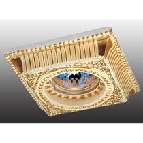 369831 NT12 329 жёлтый/золото Встраиваемый светильник IP20 GX5.3 50W 12V SANDSTONE