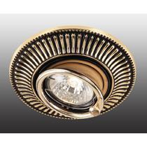 369860 NT14 118 коричневый/золото Встраиваемый ПВ светильник IP20 GX5.3 50W 12V VINTAGE