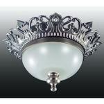 369981 NT15 176 франц.серый/стекл.матов.плафон Встраиваемый светильник IP20 GX5.3 50W 12V BAROQUE