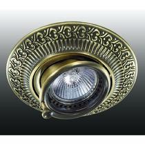 370015 NT15 117 бронза Встраиваемый светильник IP20 GX5.3 50W 12V VINTAGE