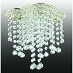 370022 NT15 100 белый/золото Встраиваемый светильник IP20 GX5.3 4*50W 220V GRAPE