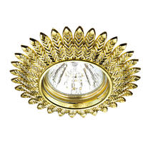 370243 NT16 240 золото Встраиваемый стандартный светильник IP20 GX5.3 50W 12V FORZA