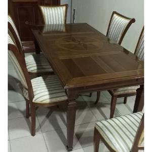 комплект стол + 6 стульев