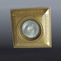 SS-13 antique brass светильник встраиваемый