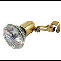 GS01 MR16 подсветка картины Светкомплект  (светильник со струбциной в золоте)