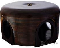 Распределительная коробка 78мм тигровое дерево керамика BIRONI B1-521-TW