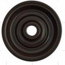 Накладка для выключателя коричневый BIRONI В3-062-22