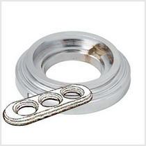 Рамка 3-х постовая хром металл BIRONI BF1-630-30