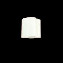 802010 (MC998-1) Светильник NUBI 1х40W E27 ХРОМ/БЕЛЫЙ